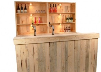 Luxe Barombouw met achterkast. incl.bar