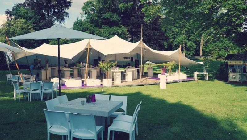 Sfeerimpressie bruiloften-tuinfeesten